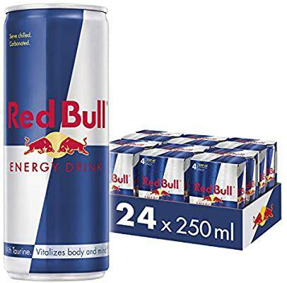 Red Bull Energy Drink 24 Pack of 250 ml (6 Packs of 4) £17.85 (+£4.49 Non-prime) @ Amazon