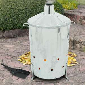 90 Litre Metal Incinerator with Free Ash Shovel £18 with Free delivery @ Weeklydeals4less