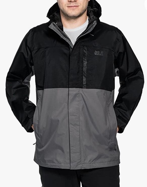 Jack Wolfskin Men's NIMROD Weatherproof jacket - Large - £68.31 - Amazon