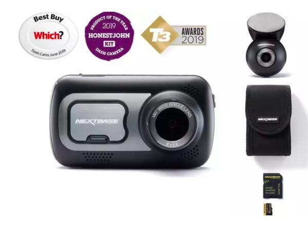 Nextbase 522gw Front & Rear Camera bundle £169 @ Halfords