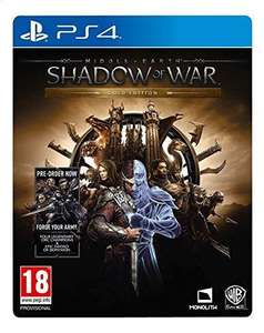 Middle Earth Shadow of War Gold Edition PS4 £11.50 @ Ravewaves
