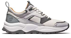 Tree Racer Leather Sneaker For Men In Grey £60 at Timberland Shop