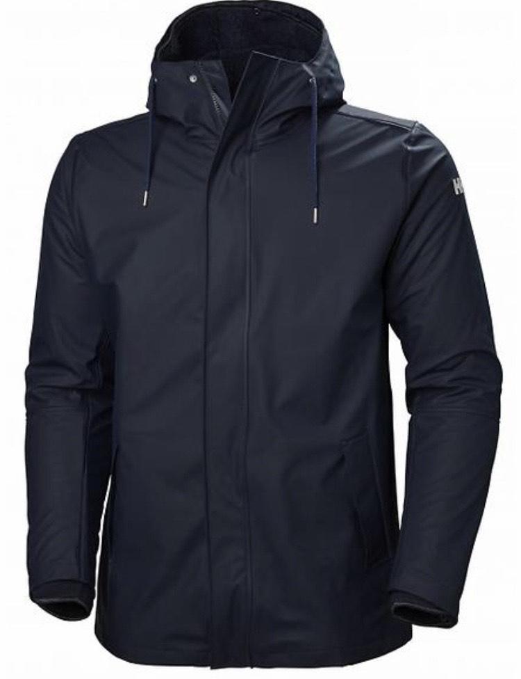 Helly Hansen Men's Moss Insulated 3-in-1 Fleece Inner Waterproof Rain Coat - navy - small - £65.81 @ Amazon