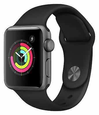 Apple Watch S3 42mm WiFi GPS Smart Watch - Space Grey Alu Case/Black Sport Band. Refurbished with a 12 month warranty. £177.99 @ Argos eBay