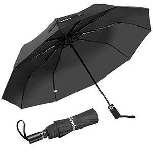 Newdora Travel Folding Umbrella, Auto Open & Close £9.30 prime / £13.79 non prime Sold by Newdora Online Store and Fulfilled by Amazon.