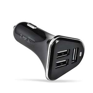 Betron R28 Premium 3 USB Port Car Charger for iPhone, iPad, iPod, Samsung, Nokia, Motorola, HTC - £6.39 (+£4.49 NP) - Sold by Betron / FBA