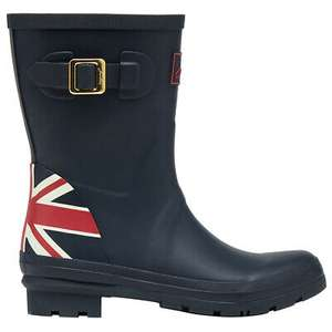 Joules Womens Molly Welly Mid Height Wellington Boots £36.67@ outdoor_look / eBay