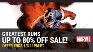 Marvel Greatest Runs Sale on Comixology e.g The Death of Captain America complete collection £3.99