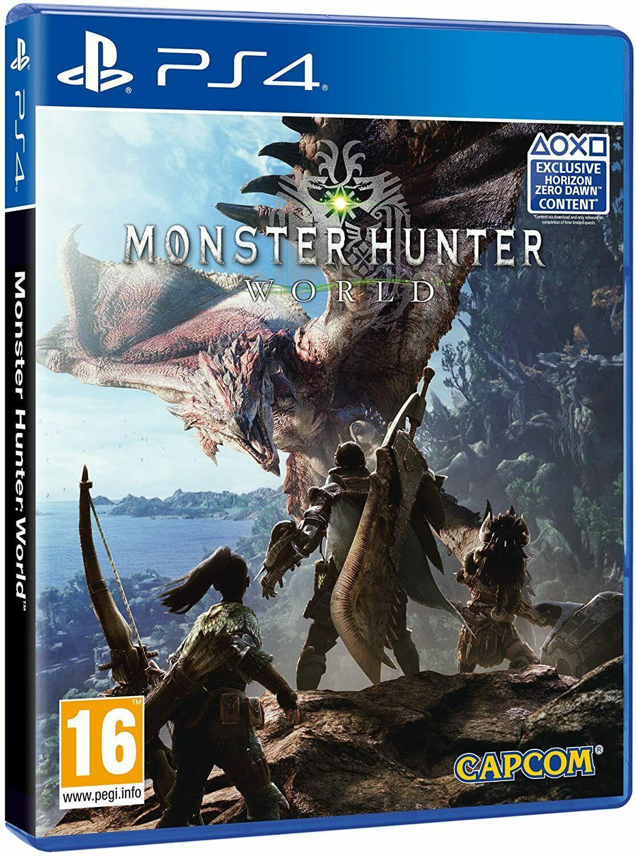 Monster Hunter World PS4 (Used) - £6.76 @ Music Magpie / Ebay