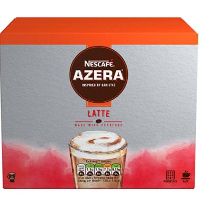 Nescafé Azera Speciality Latte 35 X 18G £15.99 prime / £20.48 non prime @ Amazon