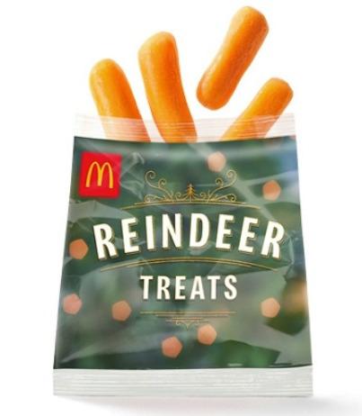 Free Reindeer Carrots on Christmas Eve @ McDonalds