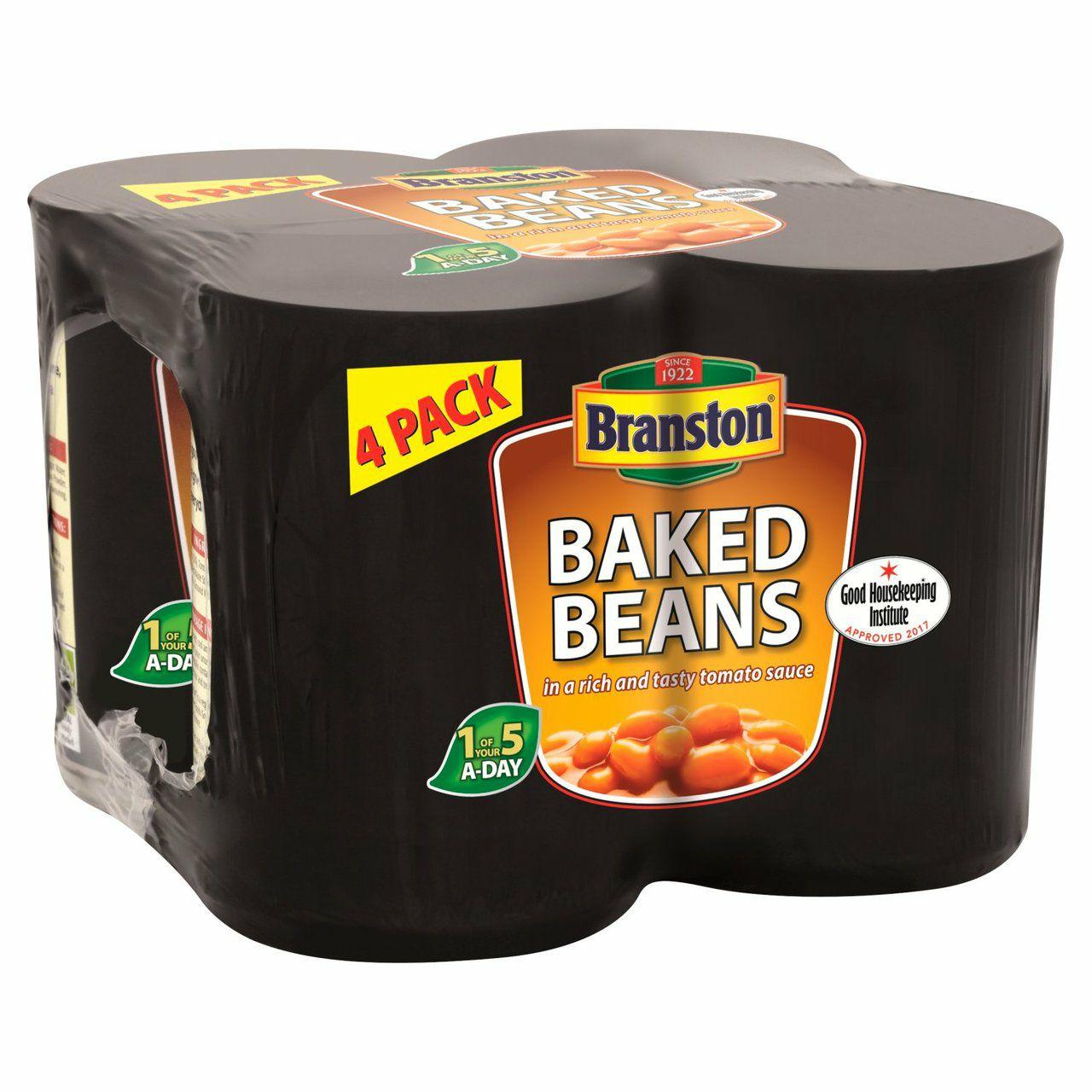 Branston Baked Beans4 x 410g £1.50 @ morrisons
