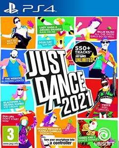 Just Dance 2021 PS4 (free PS5 upgrade) £28.42 delivered @ Amazon