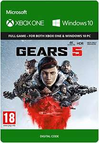 Gears 5 - Standard   Xbox One Download Code £9.99 @ Amazon
