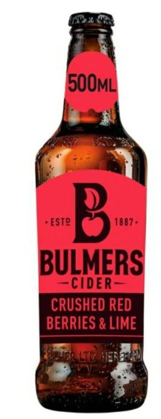 Bulmers Red Berries & Lime 4.5% £1 @ Home Bargain (Derby)