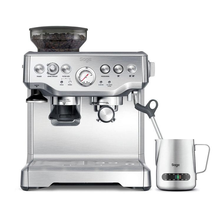 Sage Barista Express Bean to Cup Coffee Machine Including Milk Jug BES875UK - £484.99 @ Costco