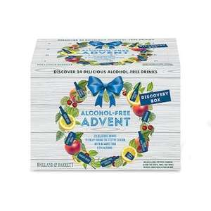 Holland and Barrett Alcohol free drink advent calendar £12.99 delivered @ Holland and Barrett