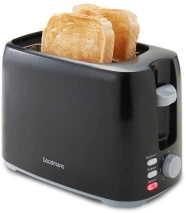 Goodmans black toaster £1 instore @ B&M Wolstanton, Stoke-on-Trent