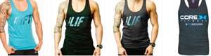 Mens Gym Vest various styles and sizes from £2.70 + £2.95 Postage @ Start Fitness