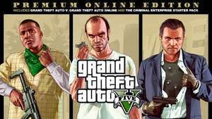 Grand Theft Auto V Premium Online Edition £12.59 @ Playstation Store