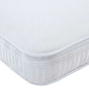 Relyon Cool Plus Spring Cot Bed Mattress (140cms x 70cm) £19.99 + £7.99 delivery at Home Bargains