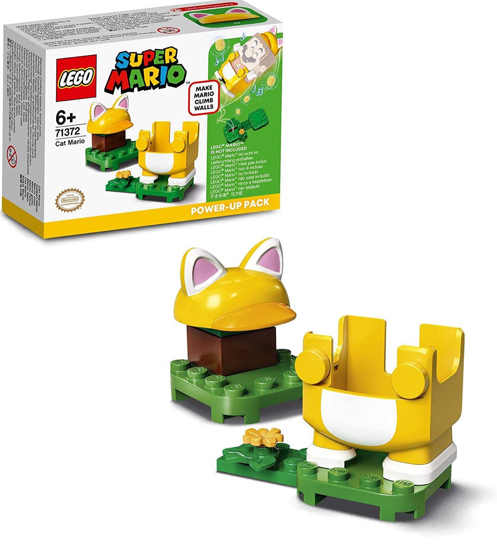 LEGO Super Mario 71372 Cat Power-Up Pack Expansion Set Climb Walls Costume £4.50 Prime /+ £4.49 non Prime Amazon
