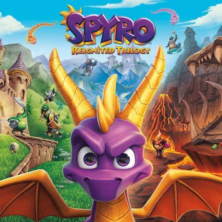 Spyro Reignited Trilogy £12.24 @ Playstation Network