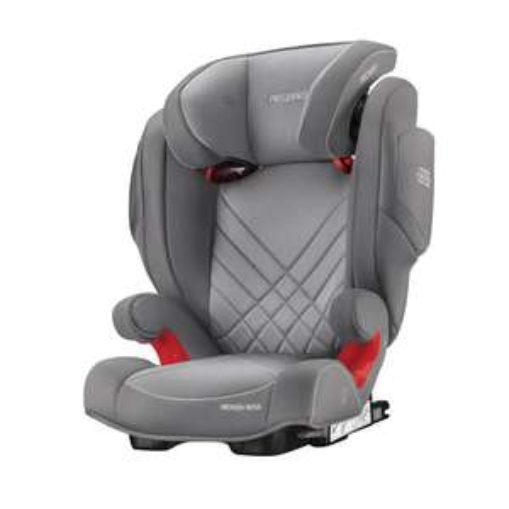Recaro Monzanova 2 seatfix Car Seat - Aluminium Grey £112.50 Winstanleys Pramworld
