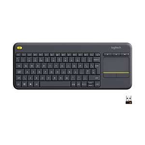 Logitech K400 Plus Wireless Black Keyboard £10.12 Business customers only - £19.98 (+£4.49 NP) for non Business customers @ Amazon