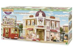 Sylvanian Families 6017 Grand Department Store Playset, New Town Series £39.99 @ Amazon