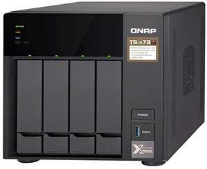 QNAP TS-473-4G, 4bay, 4GB RAM, NAS - Enclosure quipped with Quad-core CPU and PCIe slots x2 £600.86 - Amazon US