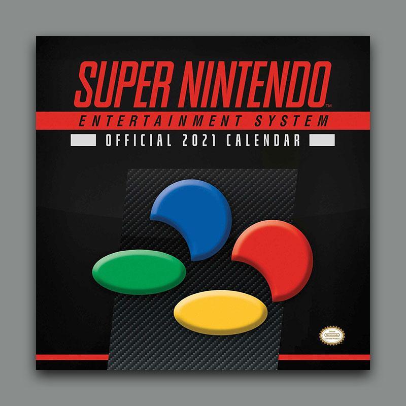 Official Super Nintendo / Zelda 2021 Calendars £4.99 each Delivered @ Geek Store