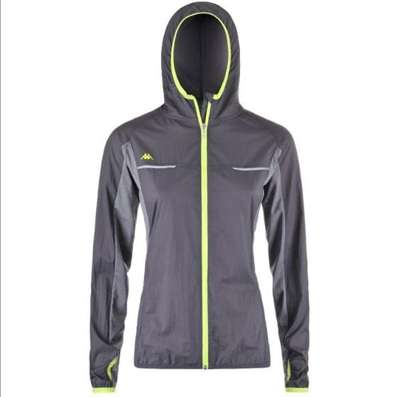 Kappa 4 Training Womens Wind Jacket - Grey £14.95 Start Fitness
