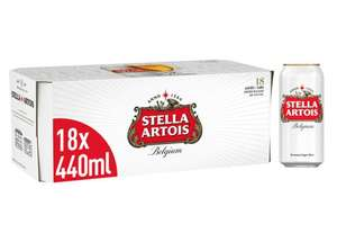 Stella Artois Lager 18 Can Pack - £12 @ ASDA
