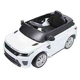 Range Rover 2 in 1 Ride On Electric Car White £79.99 @ Ryman