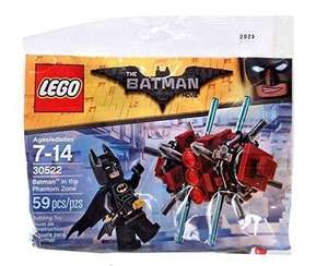 Lego Batman In The Phantom zone £2.25 Toytown The Boulevard - Banbridge