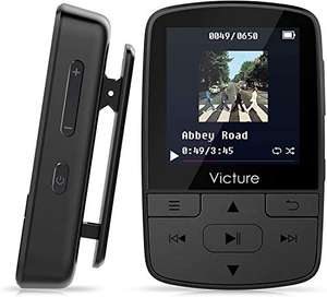 Victure Bluetooth MP3 Player 16GB - £18.69 Prime / +£4.49 non Prime Sold by SONHA and Fulfilled by Amazon