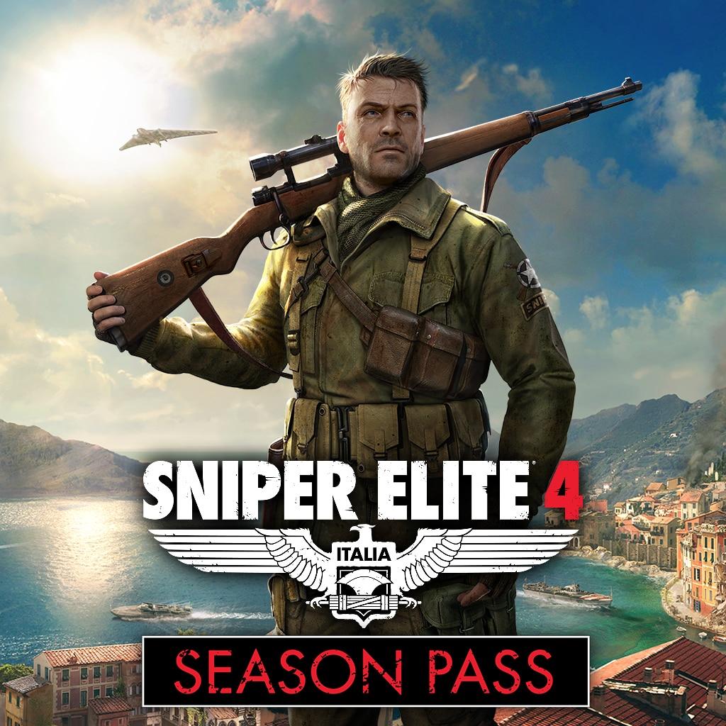 Sniper Elite 4 Season Pass PS4 - £2.89 @ PlayStation Network UK