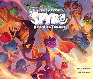 The Art of Spyro: Reignited Trilogy Hardcover – 31 July 2020 £25.08 @ Amazon