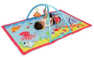 Chad Valley Ocean Deluxe Baby Gym for £10 (free click and collect) @ Argos