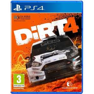 Dirt 4 (PS4) - £4.99 @ PlayStation Network