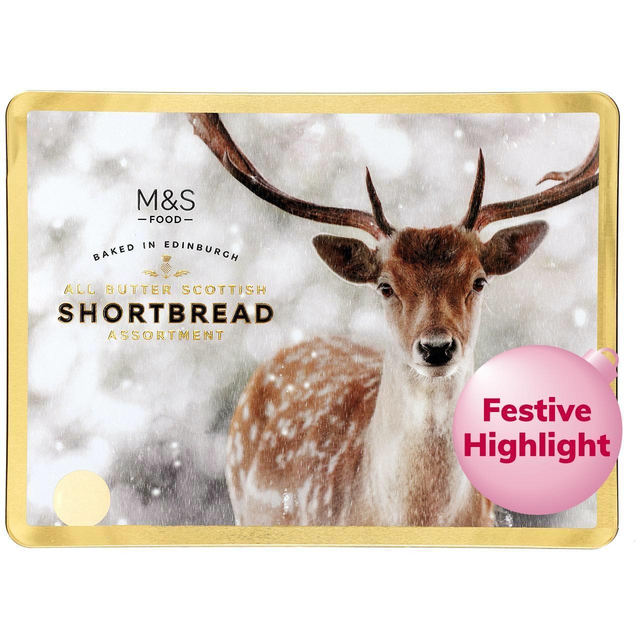 M&S All Butter Scottish Shortbread Assortment 650g £3.66 @ Ocado