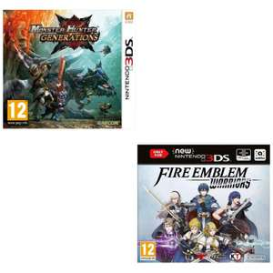 [Nintendo 3DS] Fire Emblem Warriors / Monster Hunter Generations - £5.95 each delivered @ The Game Collection