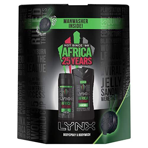 Lynx Africa, Trio Washbag Manwasher Gift Set now £5 prime / £9.49 nonPrime @ Amazon