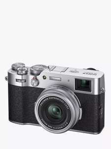 Fujifilm X100V Digital Compact Camera with 23mm Lens, Silver - £1,249 delivered @ John Lewis & Partners