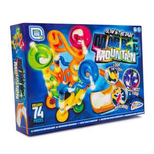 Glow in the Dark Marble Race Game - 74 pieces - £7.49 + Free Click and Collect @ Robert Dyas