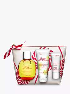 Clarins Eau des Jardins 100ml Fragrance Gift Set £24.12 @ John Lewis & partners - £2 click and collect (also Ressourçante and Dynamisante)