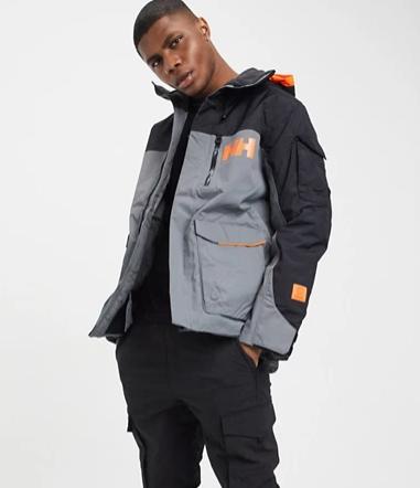 Helly Hansen Fernie 2.0 ski jacket in grey (Large Only) £91 delivered @ Asos