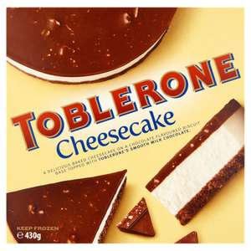 Toblerone Cheesecake 430g - £3 @ Asda