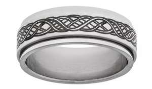 Revere Mens Stainless Steel Celtic Spinning Ring - £9.99 at Argos (Free click & collect)